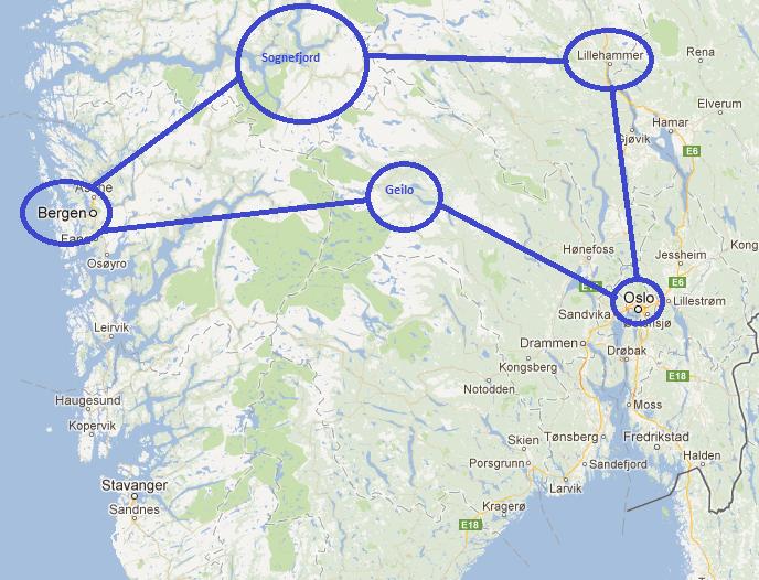 norvege_map